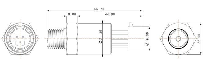 PT-301外形尺寸