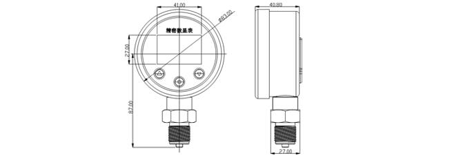 PD-B80外形尺寸