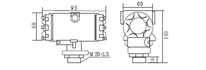 PT-2088外形尺寸