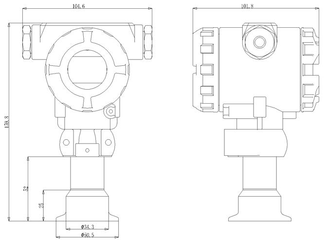 PT-608外形尺寸