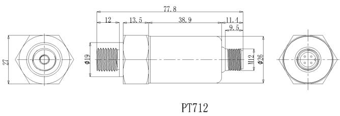 PT-712外形尺寸